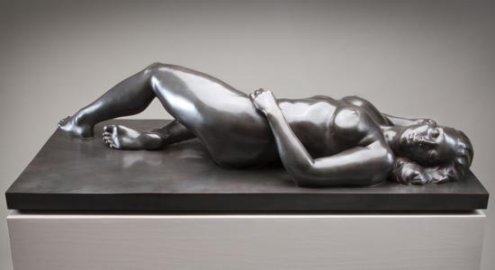 Tidal Rhythm (bronze) by Christopher Smith