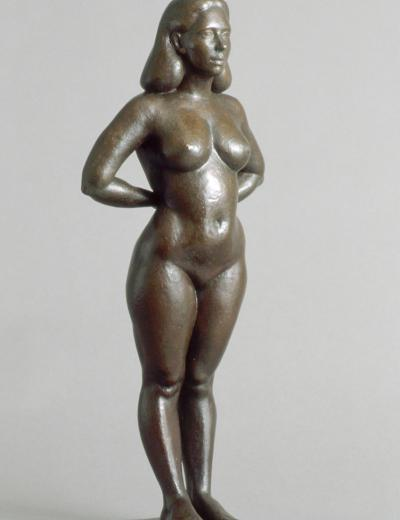 nude figure sculpture by Christopher Smith