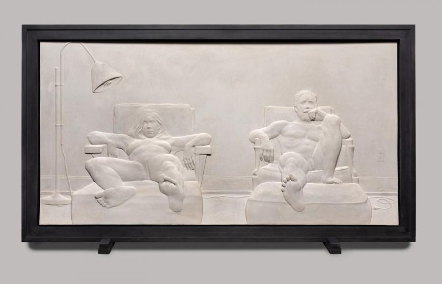 relief, contemporary sculpture, sculpture, nude, naked, figures, figure sculpture, modern