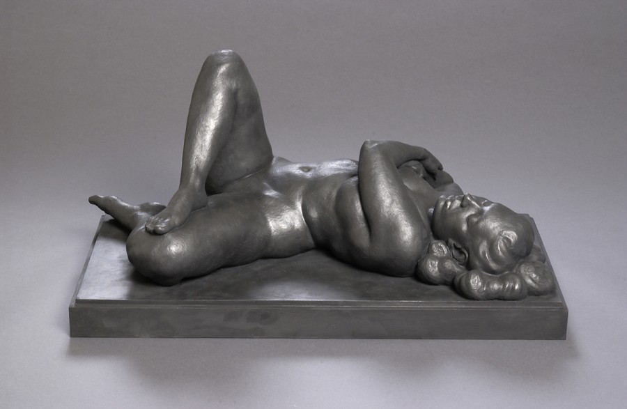 Cumulus Recumbent by Christopher Smith