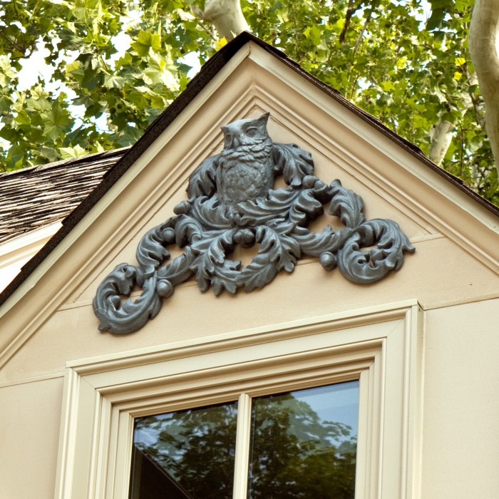 Architectural Owl Pediment by Christopher Smith
