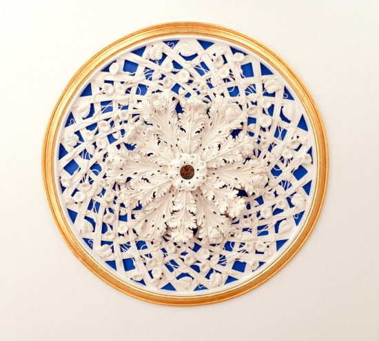 ceiling medallion, plaster, ornament, architecture, classical, Glen Mary