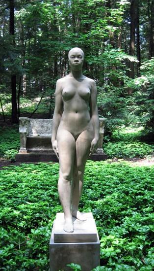 Sankofa Kore sculpture by Christopher Smith